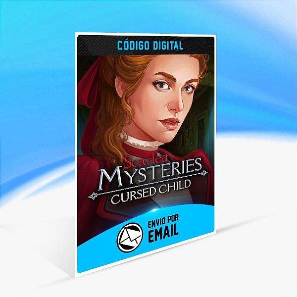 Scarlett Mysteries: Cursed Child (Xbox One Version) - Xbox One Código 25 Dígitos