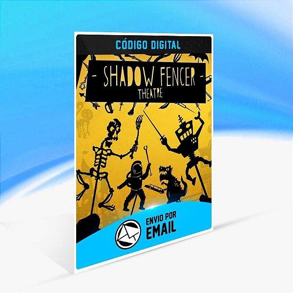 Shadow Fencer Theatre - Xbox One Código 25 Dígitos
