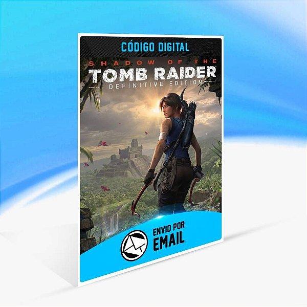 Shadow of the Tomb Raider Definitive Edition - Xbox One Código 25 Dígitos