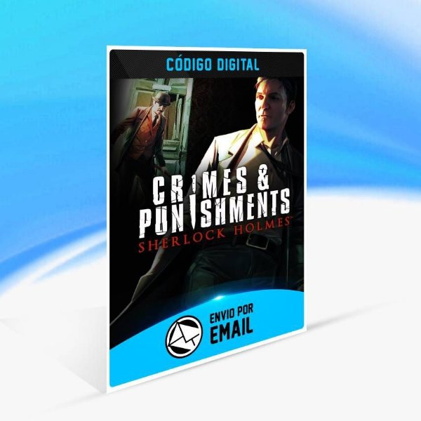 Sherlock Holmes: Crimes and Punishments Redux - Xbox One Código 25 Dígitos