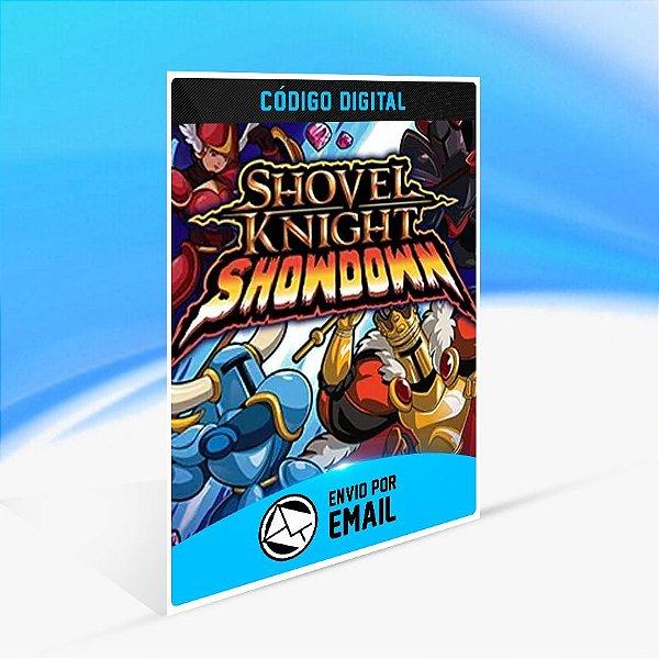 Shovel Knight Showdown - Nintendo Switch Código 16 Dígitos