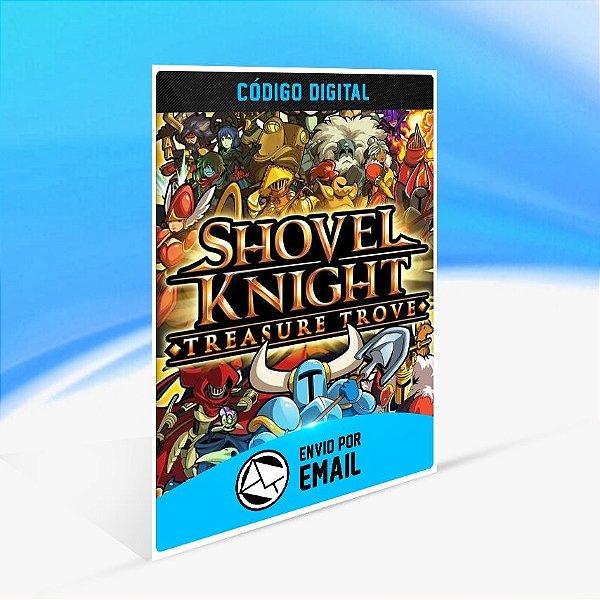Shovel Knight Treasure Trove - Nintendo Switch Código 16 Dígitos