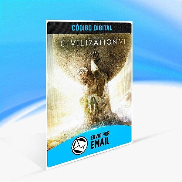Sid Meier's Civilization VI - Nintendo Switch Código 16 Dígitos