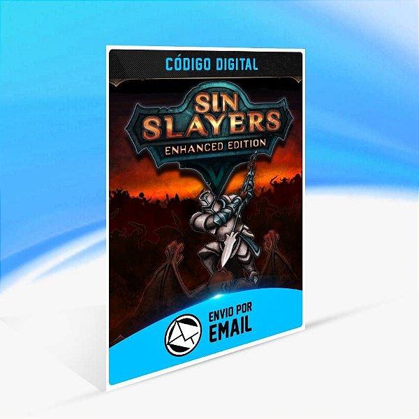 Sin Slayers: Enhanced Edition - Xbox One Código 25 Dígitos