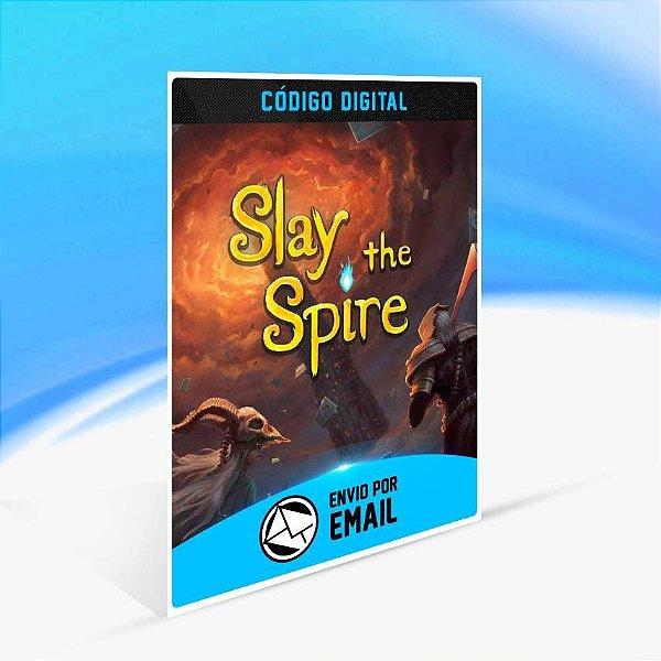 Slay The Spire - Xbox One Código 25 Dígitos