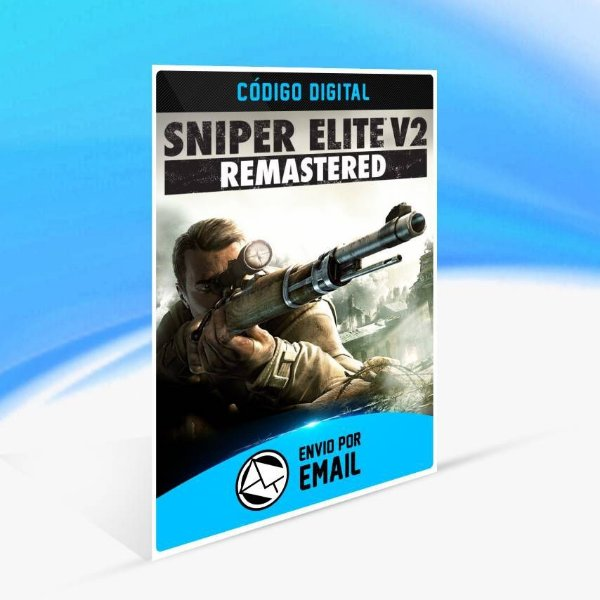 Sniper Elite V2 Remastered - Xbox One Código 25 Dígitos