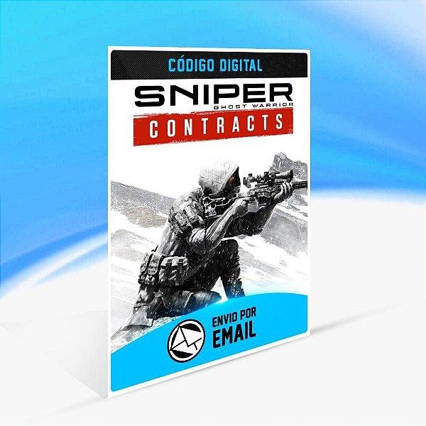 Sniper Ghost Warrior Contracts - Xbox One Código 25 Dígitos