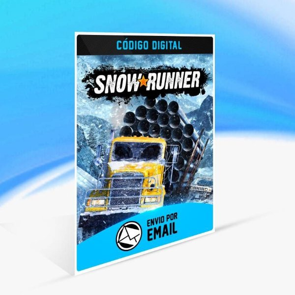 SnowRunner - Xbox One Código 25 Dígitos