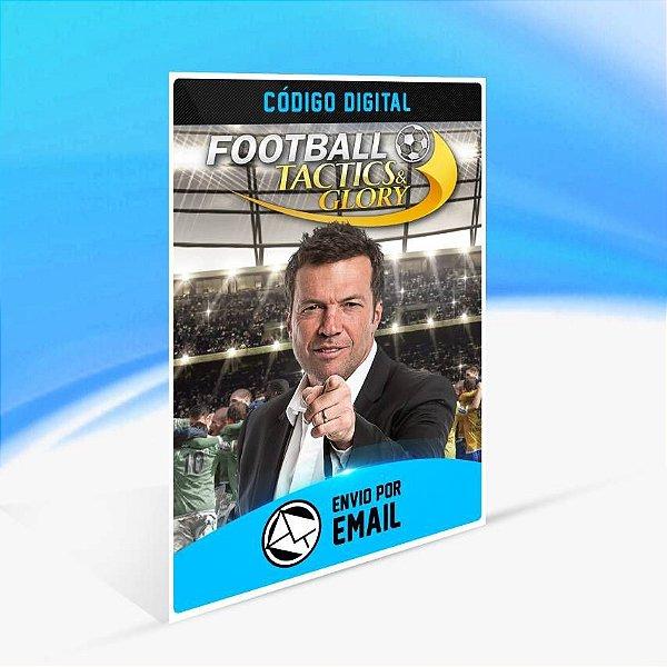 Soccer, Tactics & Glory - Xbox One Código 25 Dígitos