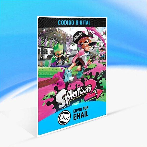 Splatoon 2 - Nintendo Switch Código 16 Dígitos