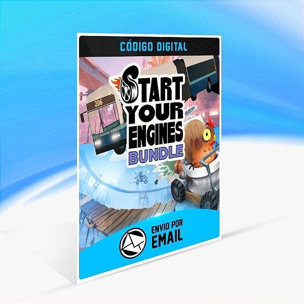 Start Your Engines Bundle - Xbox One Código 25 Dígitos