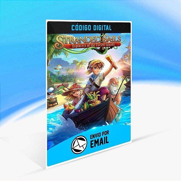 Stranded Sails - Explorers of the Cursed Islands - Xbox One Código 25 Dígitos