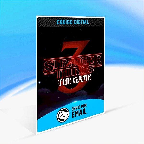 Stranger Things 3: O Jogo - Xbox One Código 25 Dígitos