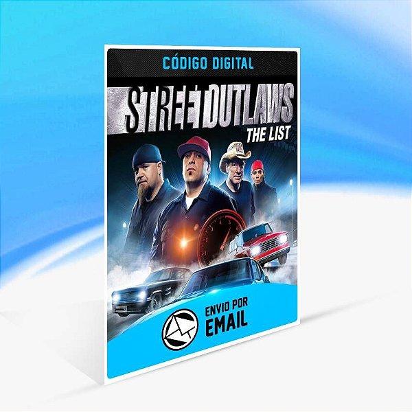 Street Outlaws: The List - Xbox One Código 25 Dígitos