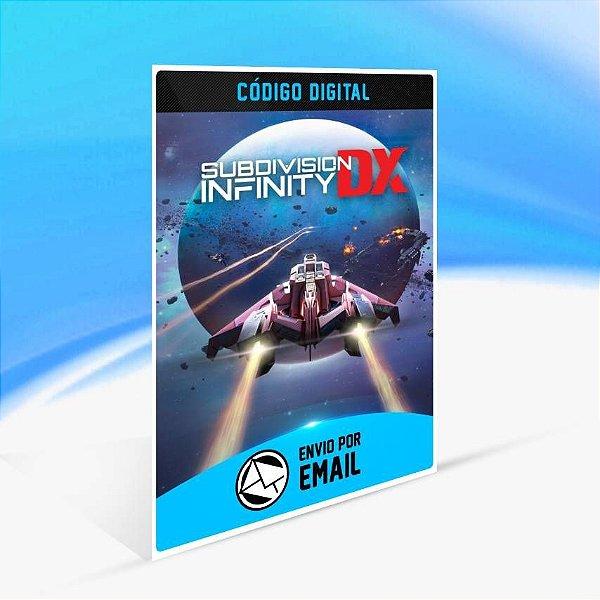 Subdivision Infinity DX - Xbox One Código 25 Dígitos