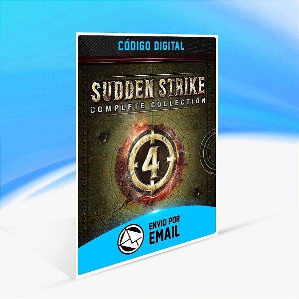 Sudden Strike 4 - Complete Collection - Xbox One Código 25 Dígitos