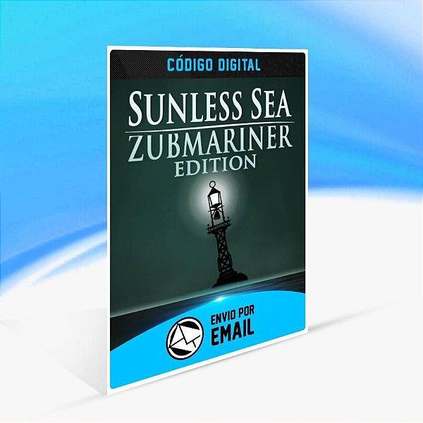 Sunless Sea: Zubmariner Edition - Xbox One Código 25 Dígitos
