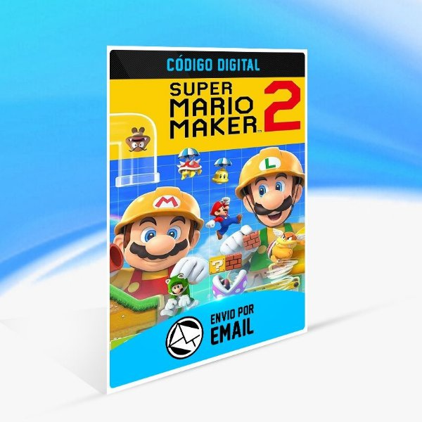 Super Mario Maker 2 - Nintendo Switch Código 16 Dígitos