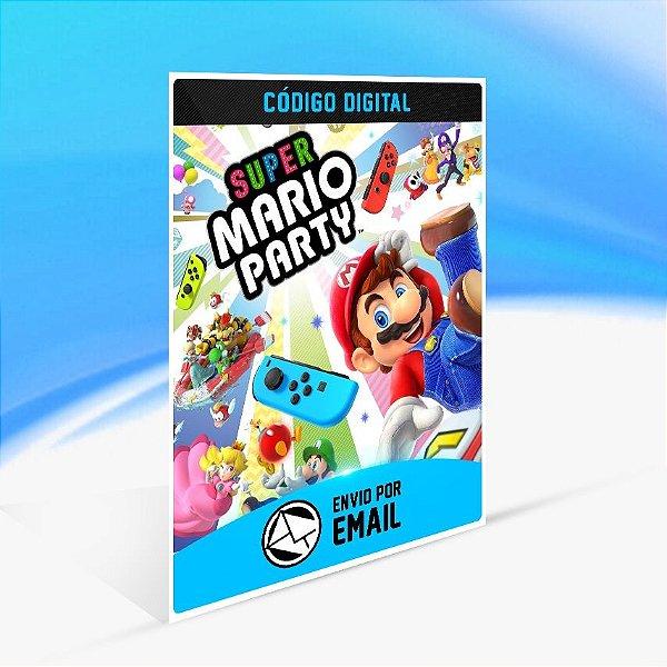 Super Mario Party - Nintendo Switch Código 16 Dígitos