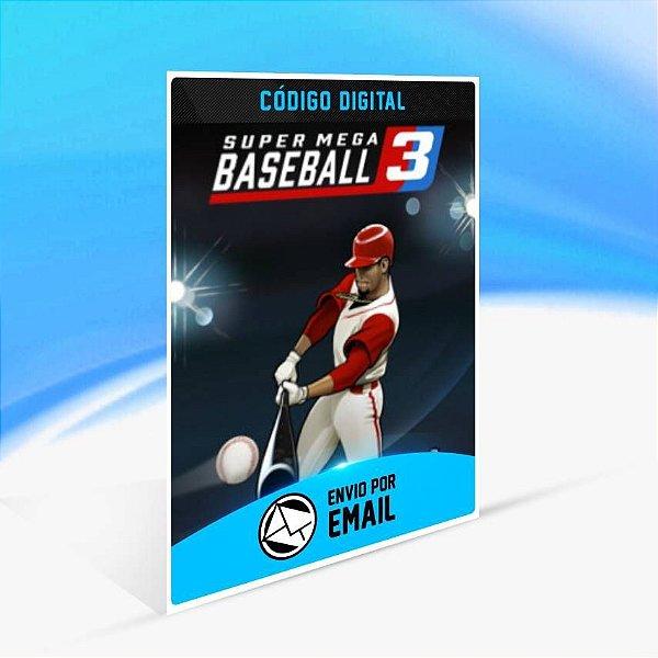 Super Mega Baseball 3 - Xbox One Código 25 Dígitos
