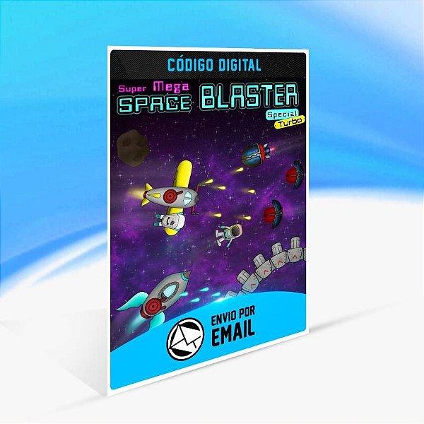 Super Mega Space Blaster Special Turbo - Xbox One Código 25 Dígitos