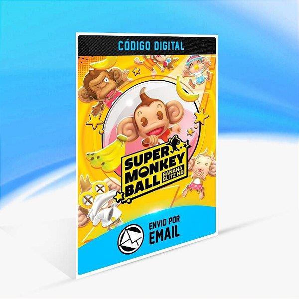 Super Monkey Ball: Banana Blitz HD - Xbox One Código 25 Dígitos