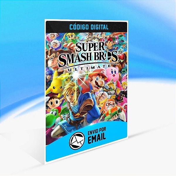 Super Smash Bros. Ultimate - Nintendo Switch Código 16 Dígitos