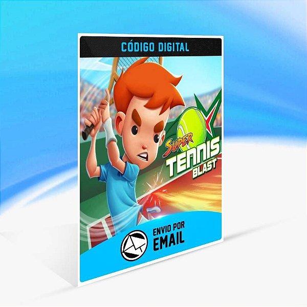 Super Tennis Blast - Xbox One Código 25 Dígitos