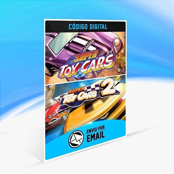 Super Toy Cars 1 & 2 Bundle - Xbox One Código 25 Dígitos