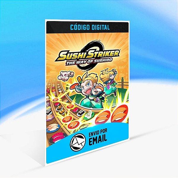 Sushi Striker The Way of Sushido - Nintendo Switch Código 16 Dígitos