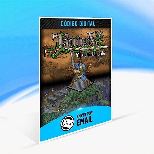 "Tactics V: ""Obsidian Brigade"" - Xbox One Código 25 Dígitos"