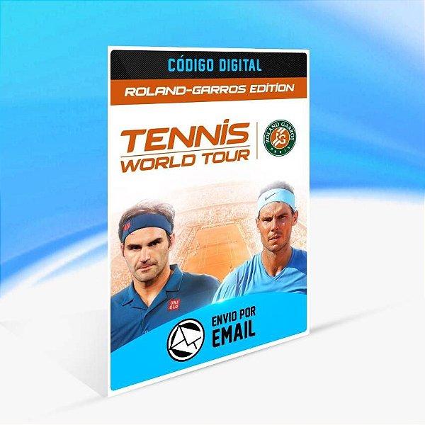 Tennis World Tour - Roland-Garros Edition - Xbox One Código 25 Dígitos