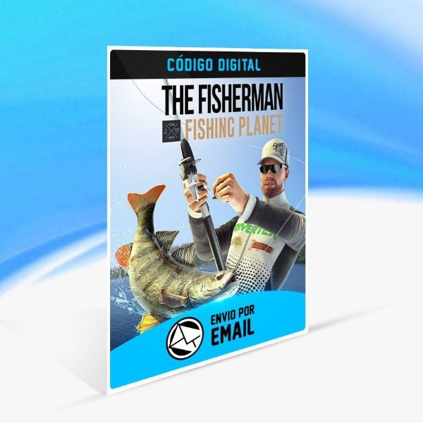 The Fisherman - Fishing Planet - Xbox One Código 25 Dígitos