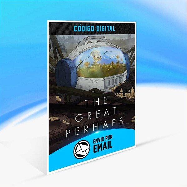 The Great Perhaps - Xbox One Código 25 Dígitos