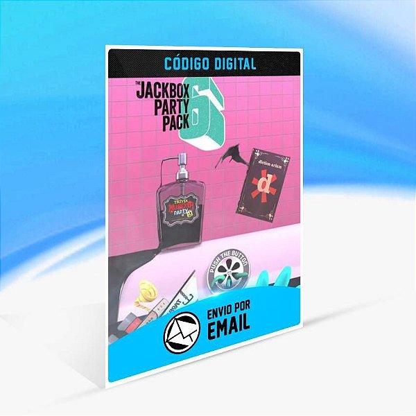 The Jackbox Party Pack 6 - Xbox One Código 25 Dígitos