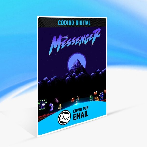 The Messenger - Nintendo Switch Código 16 Dígitos