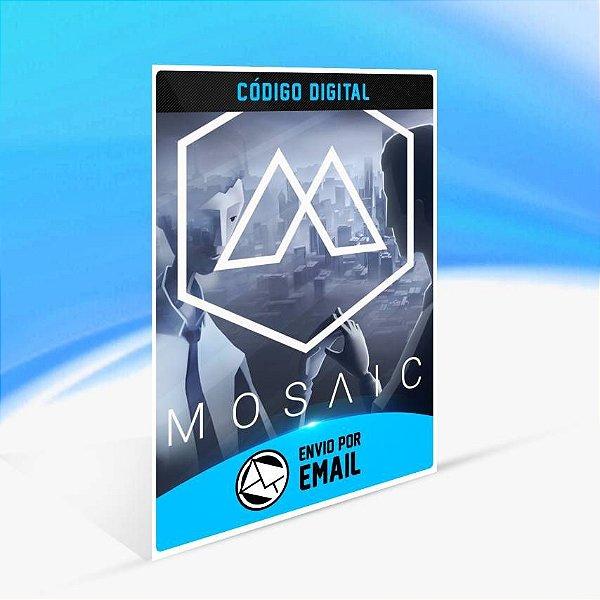 The Mosaic - Xbox One Código 25 Dígitos