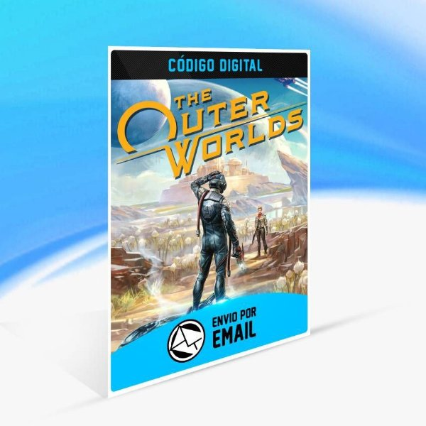 The Outer Worlds - Xbox One Código 25 Dígitos