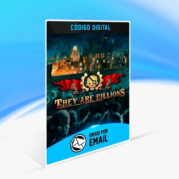They Are Billions - Xbox One Código 25 Dígitos