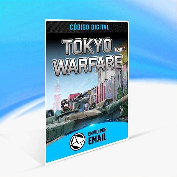 Tokyo Warfare Turbo - Xbox One Código 25 Dígitos