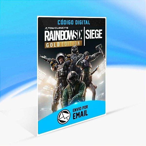 Tom Clancy's Rainbow Six Siege Gold Edition - Xbox One Código 25 Dígitos