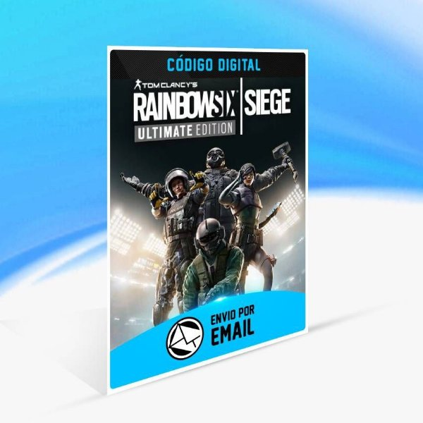 Tom Clancy's Rainbow Six Siege Ultimate Edition - Xbox One Código 25 Dígitos