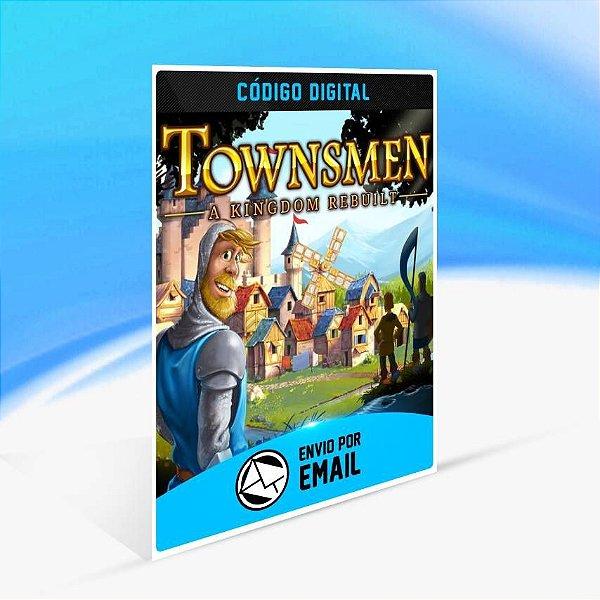 Townsmen - A Kingdom Rebuilt - Xbox One Código 25 Dígitos