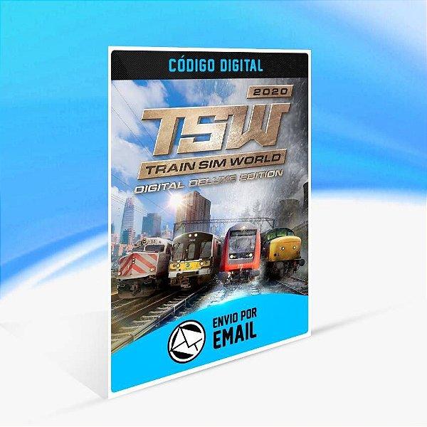 Train Sim World® 2020 Deluxe Edition - Xbox One Código 25 Dígitos