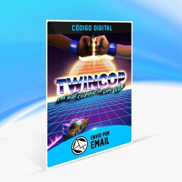 TwinCop - Xbox One Código 25 Dígitos