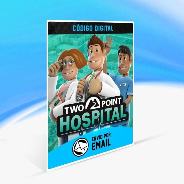 Two Point Hospital - Xbox One Código 25 Dígitos