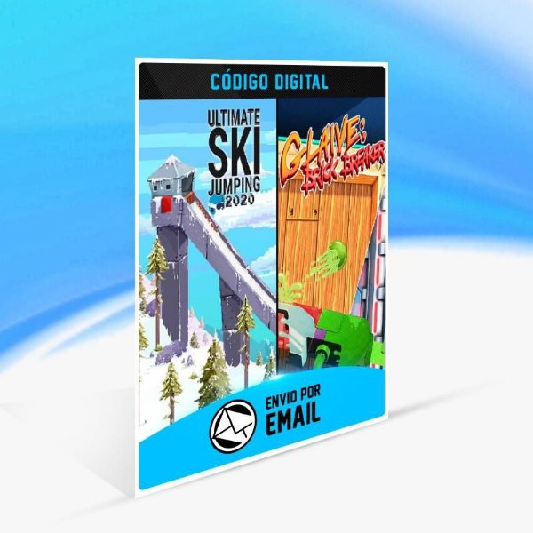 Ultimate Ski Jumping 2020 + Glaive: Brick Breaker Bundle - Xbox One Código 25 Dígitos