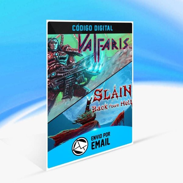 Valfaris & Slain Double Pack - Xbox One Código 25 Dígitos
