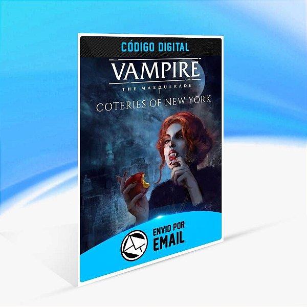 Vampire: The Masquerade - Coteries of New York - Xbox One Código 25 Dígitos