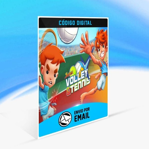 Volley & Tennis Bundle Blast - Xbox One Código 25 Dígitos